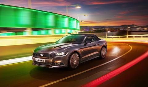 Mustang kommer! Ford gør den amerikanske drøm til virkelighed