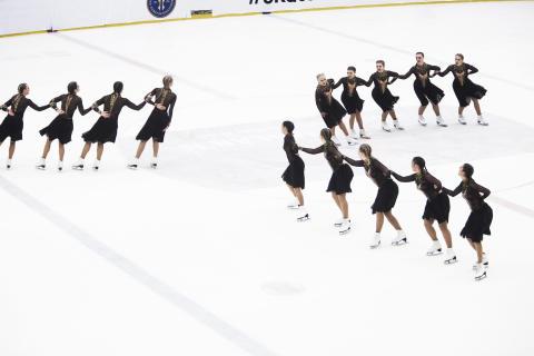 VM-uppladdning i Stockholm helgen – kvaltävling inför SM i synkroniserad konståkning