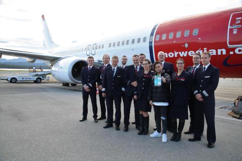 Bøssebærere inntar lufta på over 100 Norwegian-flygninger