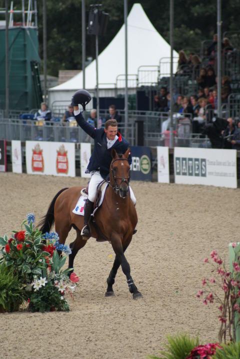 Ridsport - Kevin Staut ger clinic under Gothenburg Horse Show