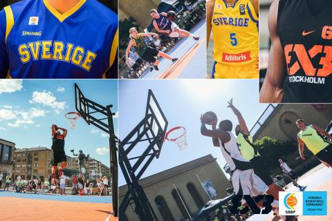 Svensk Basket satsar på 3X3 och fyra nya landslag
