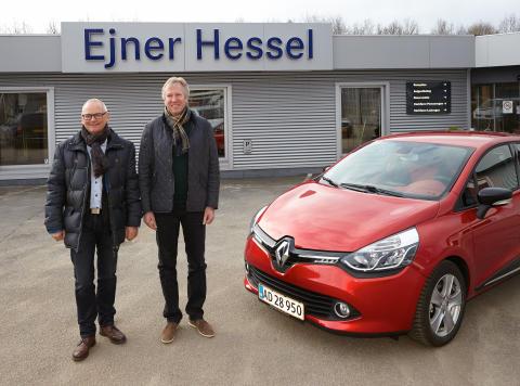 Ny Renault forhandler i Silkeborg