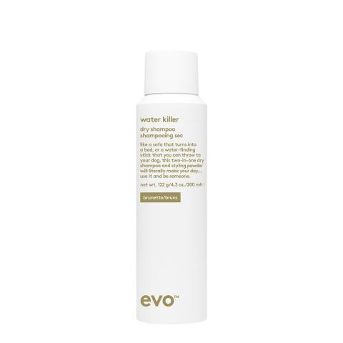 Evo presenterar torrschampo anpassat för mörkt hår!