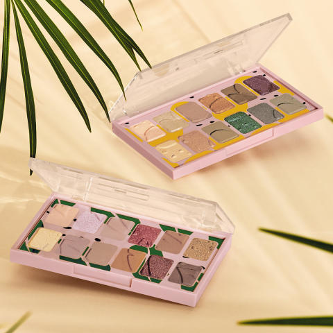 Eyeshadow Paletts Own Your Naturals & Paint In Colour