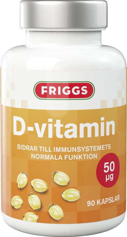Friggs D-vitamin med 50 µg