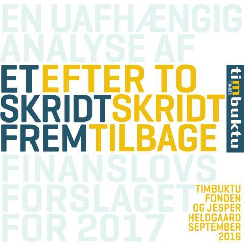 Timbuktu Fondens analyse af FF2017