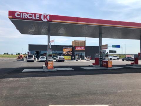 Circle K öppnar ny unik station i Flädie