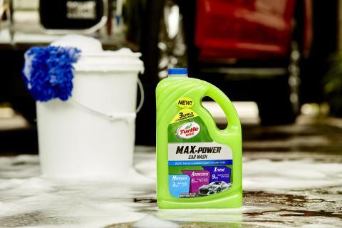 TURTLE WAX M.A.X.-POWER – Nytt bilschampo med tre olika rengöringsnivåer