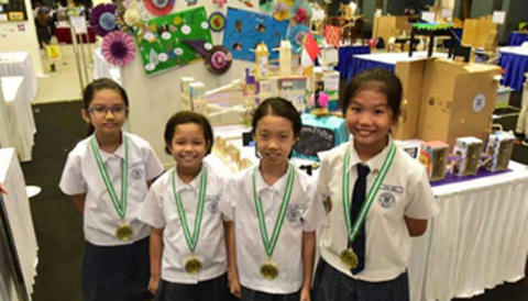 Students Present Solutions for a Better Quality of Life Through Inventions at Singapore Amazing Machine Competition 2016