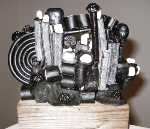 Lakritsskulptur 2009