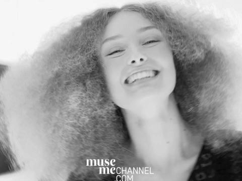 Den danske stjernestylisten, Cim Mahony, sto for hårstylingen på modellene for Ganni showet under Copenhagen Fashion Week!
