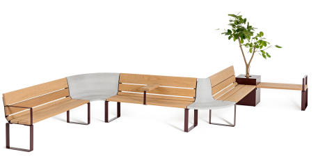 Central furniture system, design Thomas Bernstrand