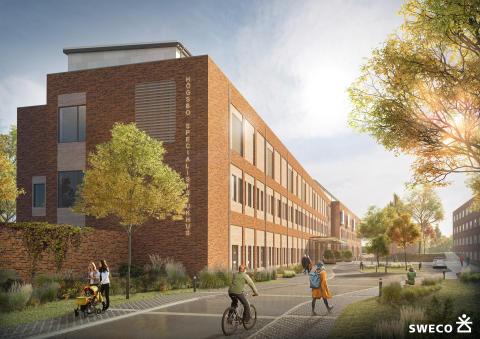 Assemblin installerar i nytt avancerat specialistsjukhus i Göteborg