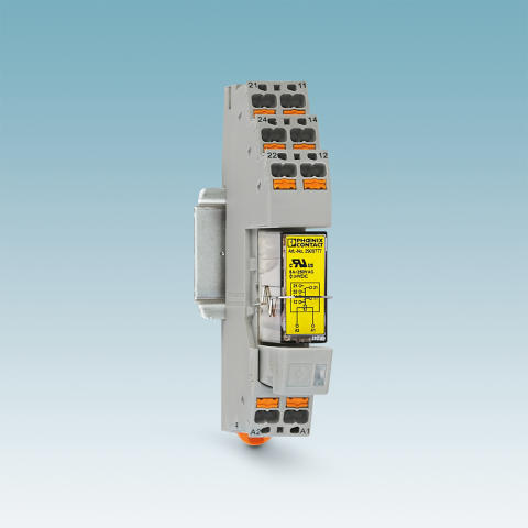 Force-guided coupling relay module