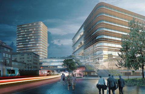 ​Arkitema Architects designs major extension of Sahlgrenska University Hospital in Gothenburg