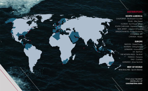 Cox Powertrain: International WorkBoat Show - Distribution and Service Network for World's Most Powerful Diesel Outboard to be Announced