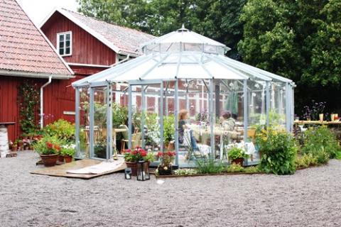 Mysiga Vilhelmsro Gårdscafé i Falköping är med i appen.