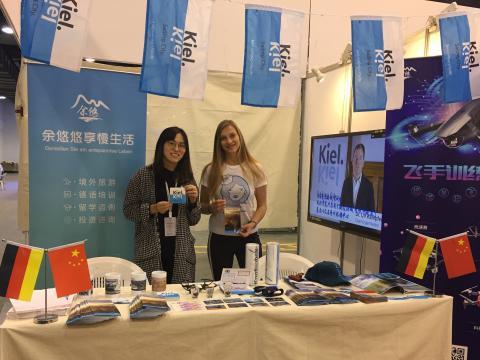 Kiel-Marketing präsentiert die Destination Kieler Förde auf  chinesischer Reisemesse in Hangzhou