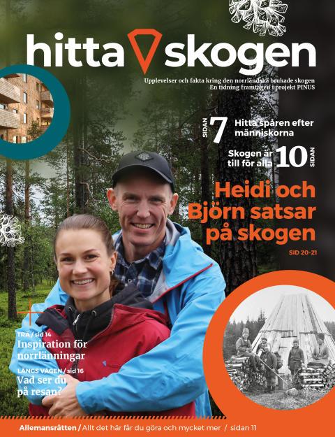 Hitta skogen med ny tidning