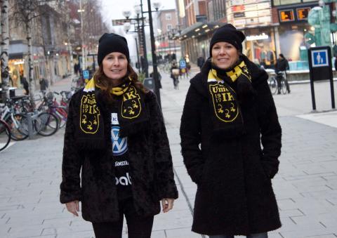 Malin Moström och Anna Sjöström Amcoff