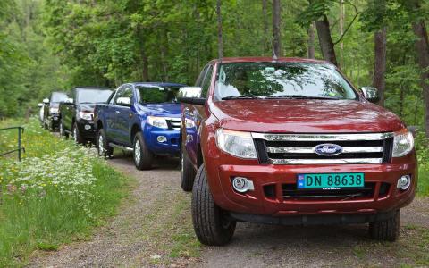 Norsk Ford Ranger-lansering - juni 2012
