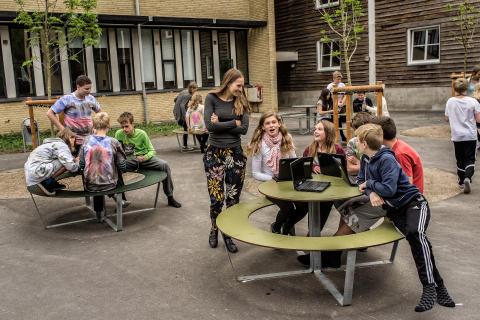 Outsider - School Yard 1