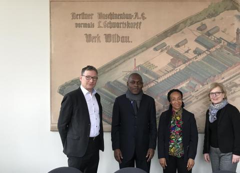 Delegation der Botschaft Kameruns besucht TH Wildau