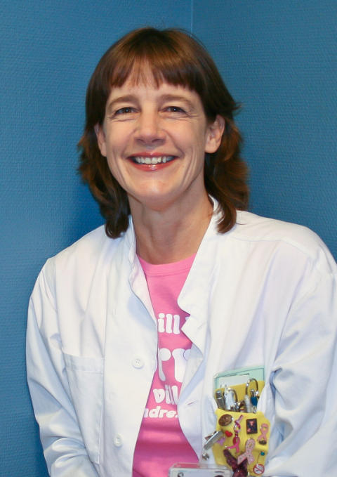 Karina Sandström från Helsingborg Årets Bröstsköterska 2010