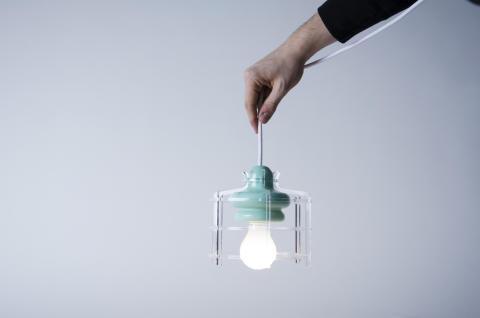 Lampan BÅB – design Mattias Rothman och Mira Bergh Edenborg