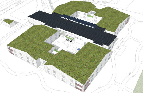 Erlandsson Bygg och Eksta Bostads AB bygger hållbart boende för äldre i Särö