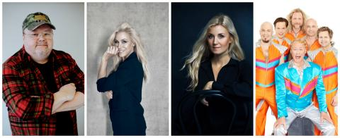 Nu laddar vi för Melodifestival med Kalle Moraeus, Jessica Andersson, Emmi Christensson &  Rolandz