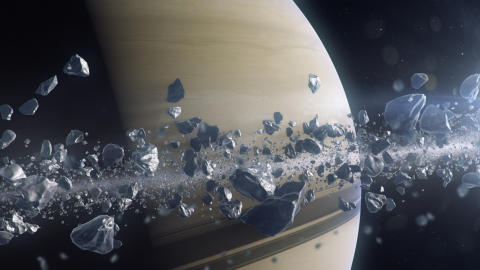 National Geographic visar Saturnus inuti ringarna