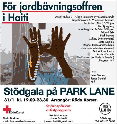 Sportson Göteborg skänker 7 000 kronor till jordbävningsoffren i Haiti