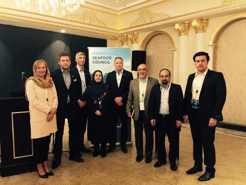 Norske eksportører på plass i Iran