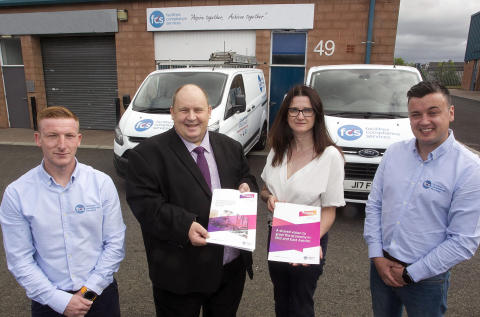 Award-winning Mid and East Antrim electrical business FCS Ltd celebrates success with Amplify backing