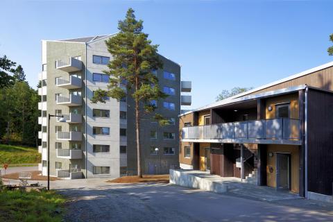 Förbos Höjdpunkten nomineras till bostadspris