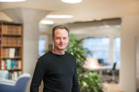 VD Fredrik Bengtsson