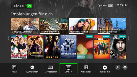 Tele Columbus und primacom starten advanceTV Entertainment-Plattform