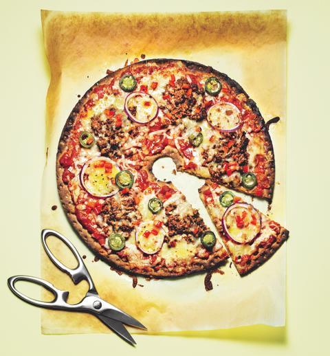 Knäckepizza - Taco Loco