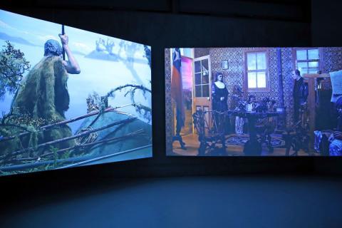 """Ausstellung """"Explosion"""" von Mario Pfeifer in der GfZK"""