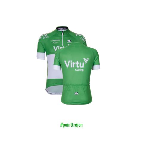 ​Virtu Cycling Group er ny sponsor for pointtrøjen i PostNord Danmark Rundt