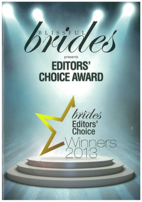 Evorich Flooring Receives The Blissful Brides Editors' Choice Award 2013 (Home & Design Specialist)