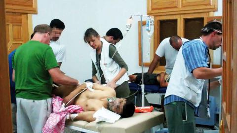 Läkare Utan Gränser i Syrien