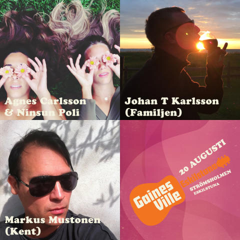 Klart med fyra DJs till Gainesville Eskilstuna