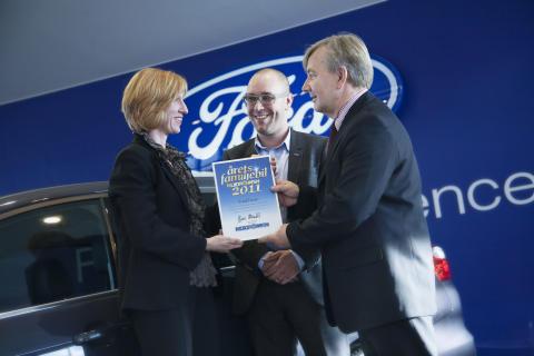Årets Familjebil 2011 blev Ford Focus