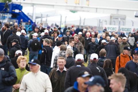 STCC Airport Race Östersund publiksuccé