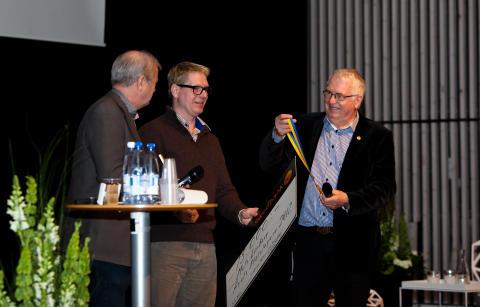 Mats Lönberg - Årets plåtslagare 2012 på scen