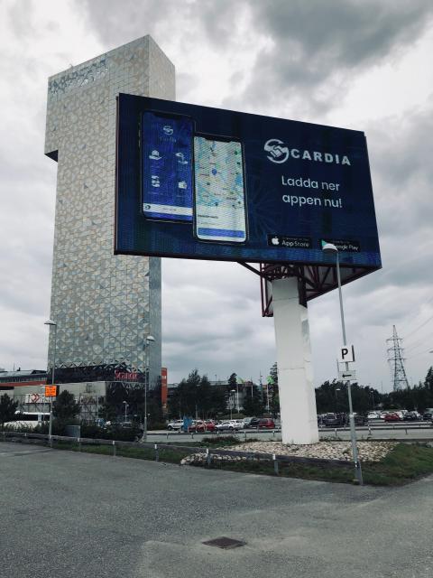 Billboard 2 - Cardia