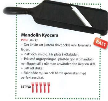 Kyoceras Mandolin - bäst i test!