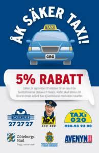 """""""Åk säker taxi"""" ska göra Göteborg till en säkrare stad"""